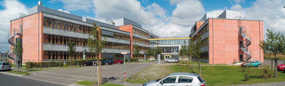 Bild: Frontansicht des Innovations- und Gründerzentrums
