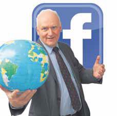 Facebook-Auftritt