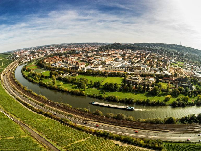 Foto: Blick vom Würzburger Stein